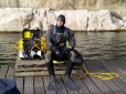 Picture of police diver Andy Thom