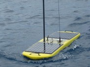Picture of an ocean-going robot