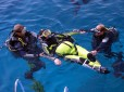 Picture of paralysed diver Bazza West