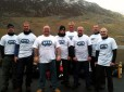 Picture of the 4 Peaks Scuba Challenge team