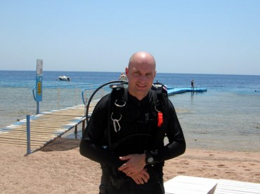 Picture of diving at Sharks Bay