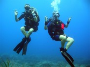 Shore diving in Gozo, Malta