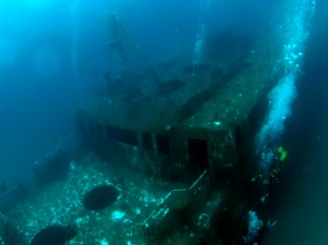 Scuba diving in Gozo, Malta