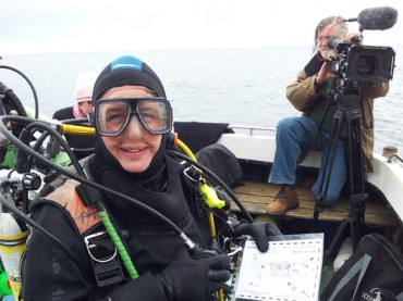 The Iona II dive trail launched this weekend