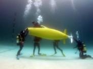 Submarine Race 2014 divers at QinetiQ