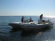 RHIB diving - with a hint of luxury