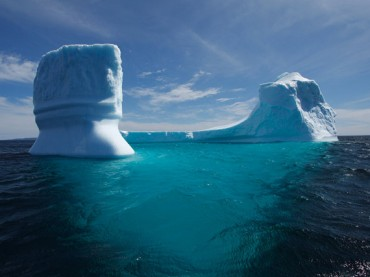 Dive an iceberg with Monty Halls