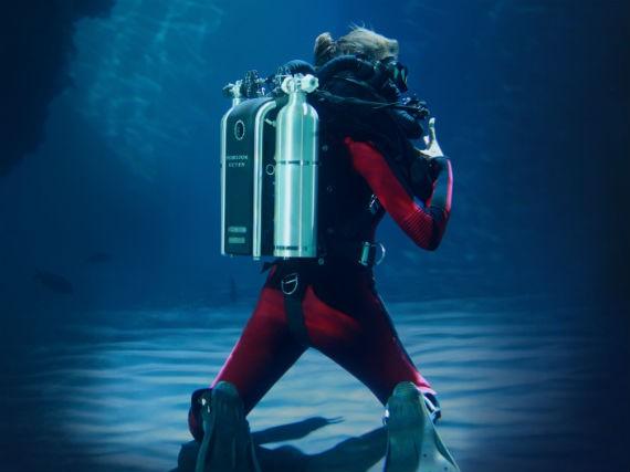 Poseidon SE7EN rebreather - go CCR