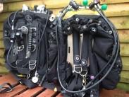 Custom Divers rigs on display