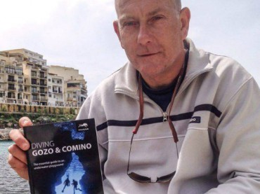 Richard Salter, author of the new Gozo and Comino book