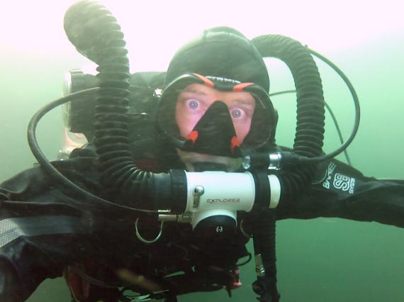 The Hollis Explorer rebreather