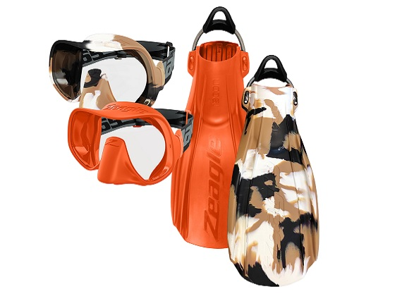 Limited edition Zeagle Scope Mono and Recon fins