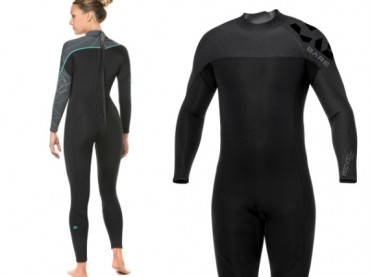 BARE Revel and Elate wetsuits