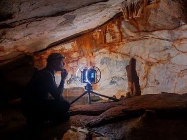 Fugro digital scan of Cosquer cave