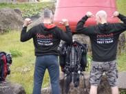 Hollis Prism 2 rebreather test team